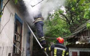 Пожар в Лисичанске. Никто не пострадал
