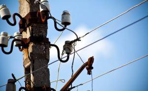 Непогода на Луганщине оставила почти 6 тыс. без света