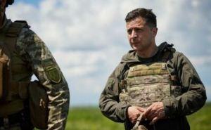 Зеленский поблагодарил Бога за гром: Президент посетил Донбасс