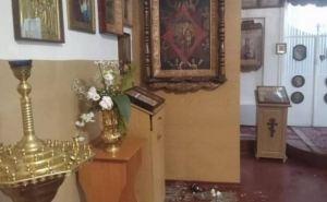 В Рубежном ограбили храм