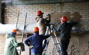 Появилось ВИДЕО поврежденного взрывом участка газопровода в Луганске