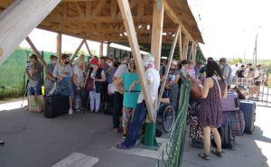 Пассажиропоток через КПВВ «Станица Луганская» за неделю увеличился на 15%