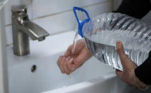 Перебои с водой в Луганске