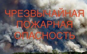 Чрезвычайная пожарная опасность в Луганской области 15июля. Какими должны быть действия населения