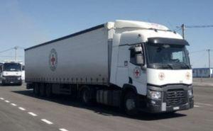 В Луганской области пропустили гумконвой через ещё не открытый КПВВ