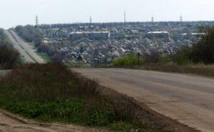 Беспилотник с размахом крыльев более двух метров упал в пригороде Луганска