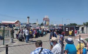 За неделю поток людей через КПВВ «Станица Луганская» увеличился на 35%