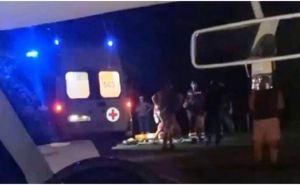 В Луганске военный сбил автомобилем 15-летнего подростка. Мальчик впал в кому. ФОТО