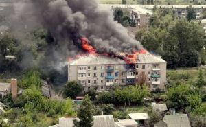 Масштабный пожар в многоэтажном доме обошелся без жертв. ФОТО