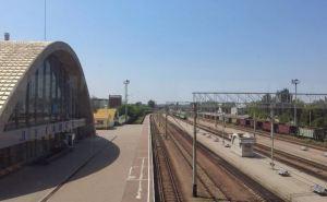 Как выглядит ЖД-вокзал Луганска с другой стороны. ФОТО