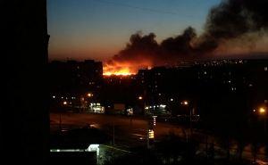 В Луганске объявили самый высокий уровень пожарной опасности