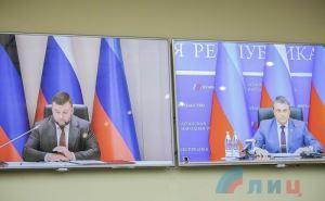 Луганск и Донецк подписали договор о создании единой таможенной зоны