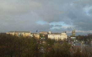 В Луганске в ближайший час начнется сильная гроза