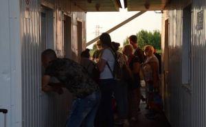 За неделю пассажиропоток на КПВВ «Станица Луганская» уменьшился. Но больше людей направлялось в сторону Луганска