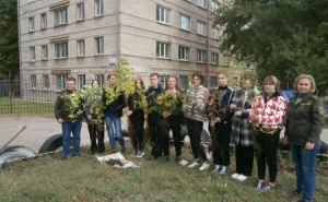 В Луганске заложили дендропарк из редких деревьев и кустарников. ФОТО