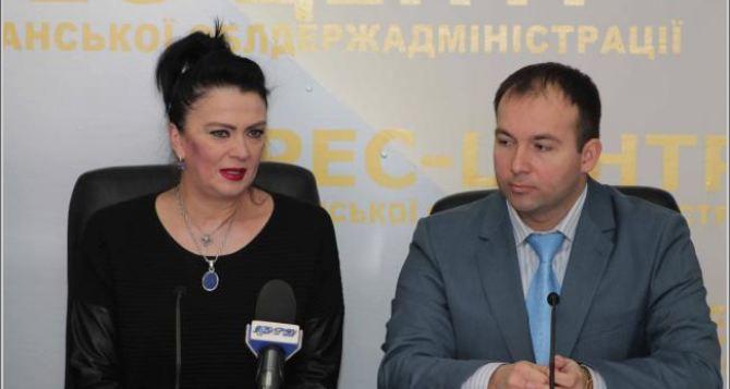 Ирина Дерюгина рассказала о наиболее перспективных луганских гимнастках