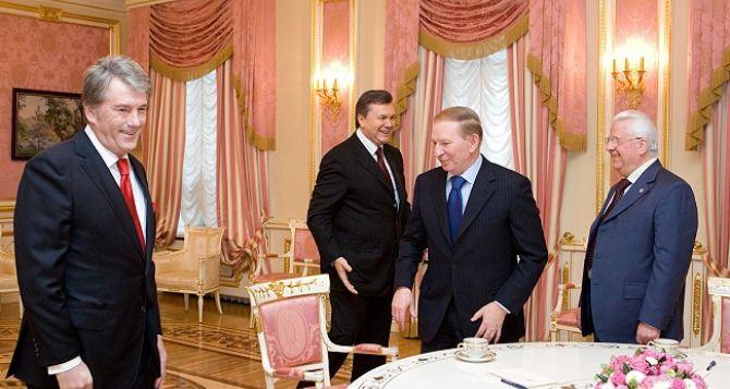 Четыре президента Украины встретятся, чтобы обсудить ситуацию в стране