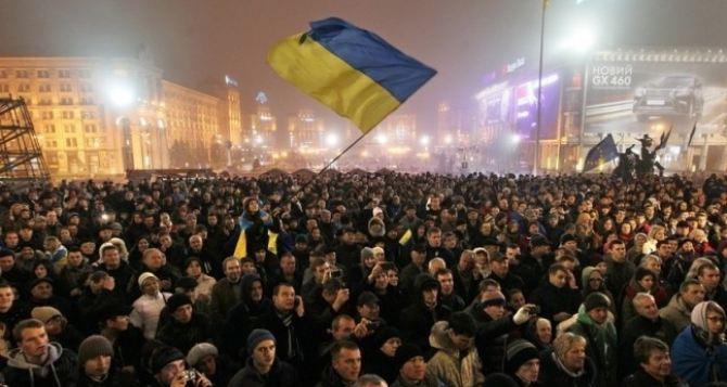 Участников Евромайдана вооружают. —МВД