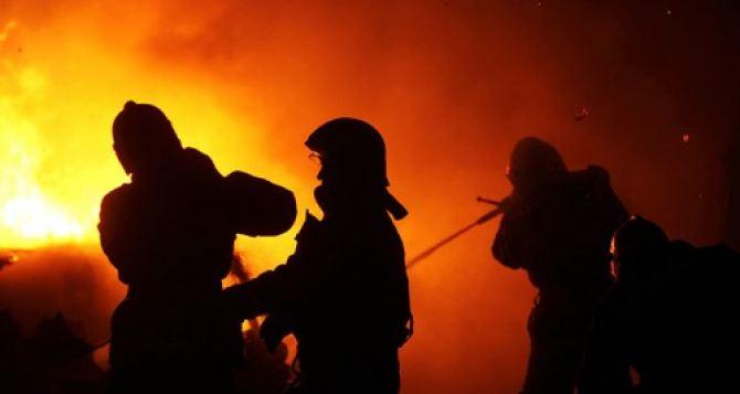 В Ровеньках на шахте произошел пожар