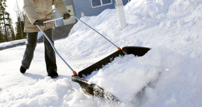 Стало известно, когда в Луганск придут сильные снегопады
