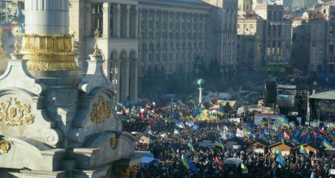 Участники объединения «Майдан» объявили о переходе к более активным действиям