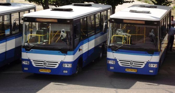 Луганск разбогатеет на 150 автобусов и 30 троллейбусов