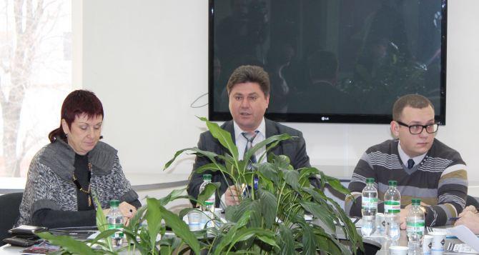 В Луганске 2014 год объявили годом окружающей среды