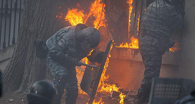Милиция обнародовала свое видео беспорядков на ул. Грушевского