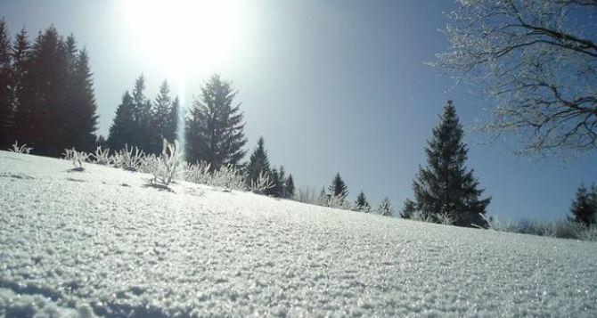 Январские морозы в Луганске не дотянули до рекорда