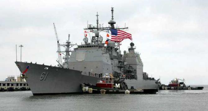 Американские военные корабли зашли в акваторию Черного моря