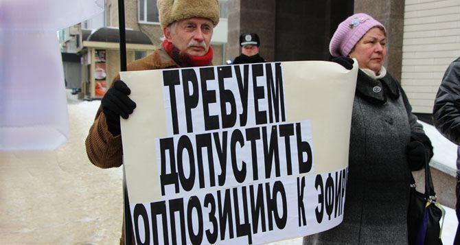 «РЭПортаж»: луганская оппозиция против телеканала «ЛОТ»