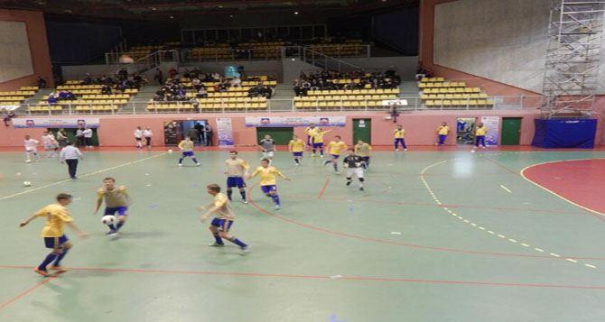 Украинская футзальная молодежка разгромила сборную Франции
