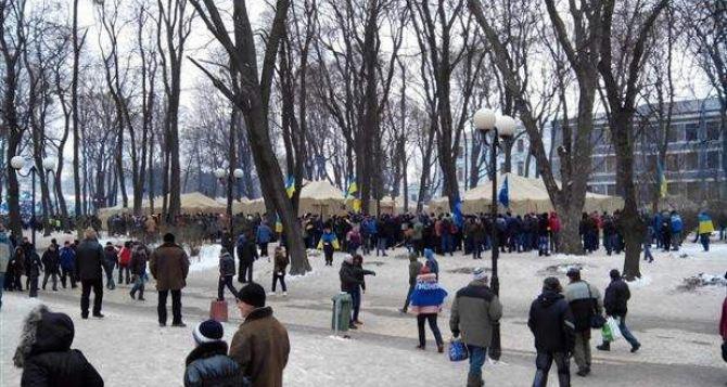 В Мариинском парке ранены 6 луганчан, двое контужены