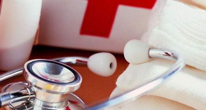 Луганчанам, получившим ранения в Мариинском парке, оказана медицинская помощь