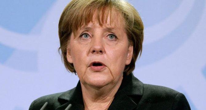 Ангела Меркель шокирована событиями в Украине