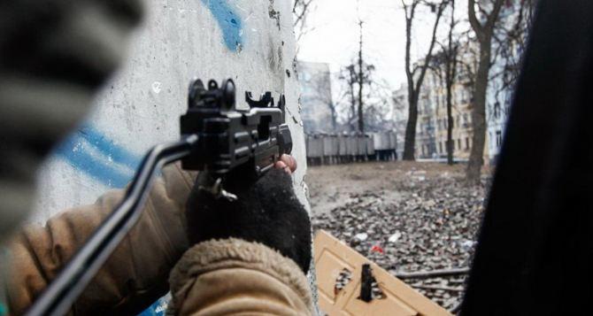 В Киеве снова стреляют. —МВД