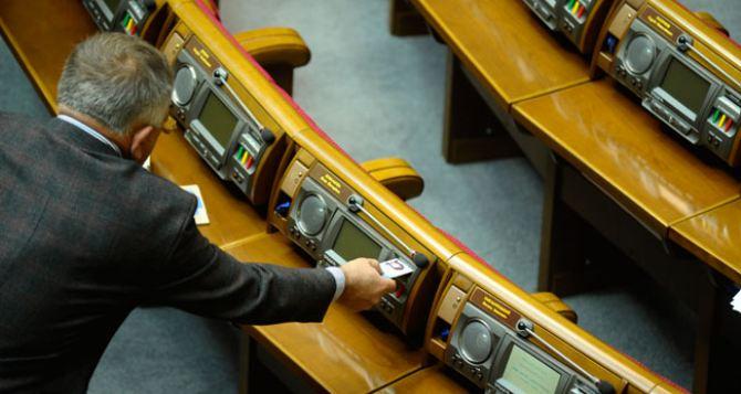 В Верховной раде объявили перерыв и готовятся к возвращению Конституции 2004 года