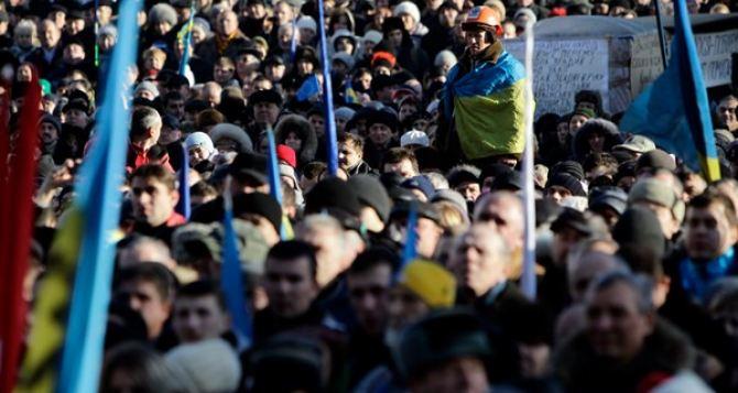 Совет Майдана против мирного соглашения с Януковичем. —Богословская