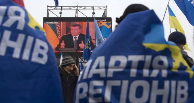 Днепропетровские регионалы заявляют о терроре и преследованиях