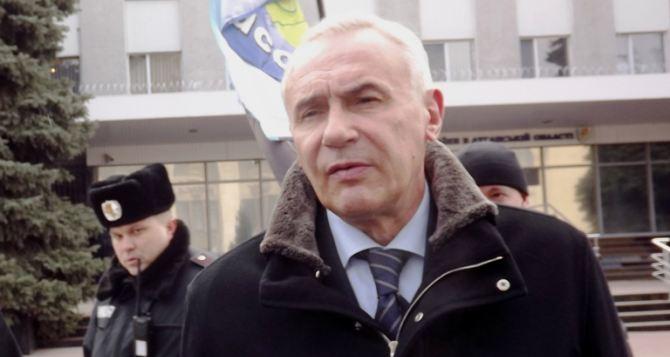Главный милиционер Луганской области уйдет в отставку (видео)