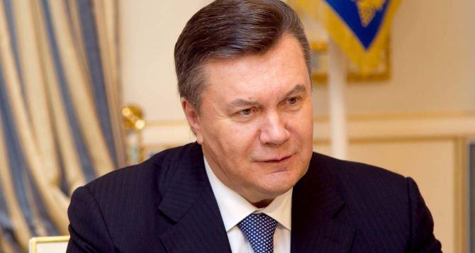 Данные Януковича появились в интернет-базе розыска МВД Украины