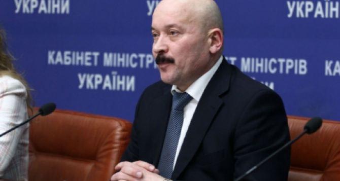 Новый губернатор Луганской области написал заявление об отставке (видео)