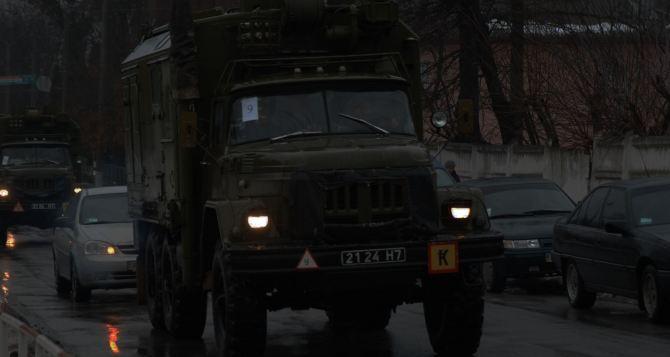 Откуда взялась тяжелая военная техника под Луганском?