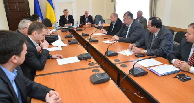 Луганские депутаты выдвинули требования Верховной раде