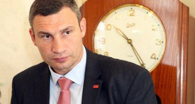 Кличко недоволен Турчиновым и выступает за его отставку