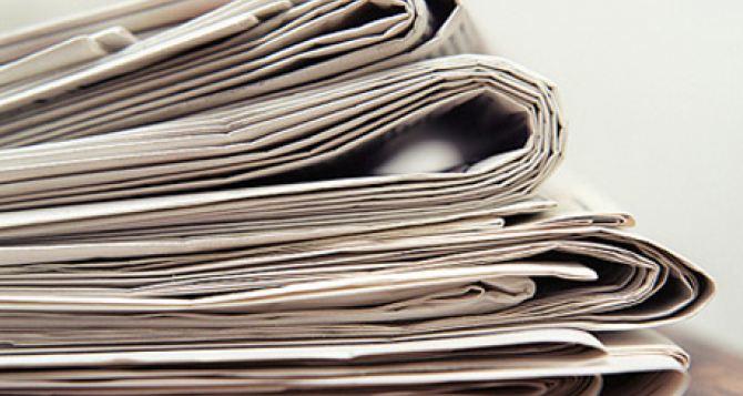 Коммунальным газетам Луганской области грозит гибель. —НСЖУ