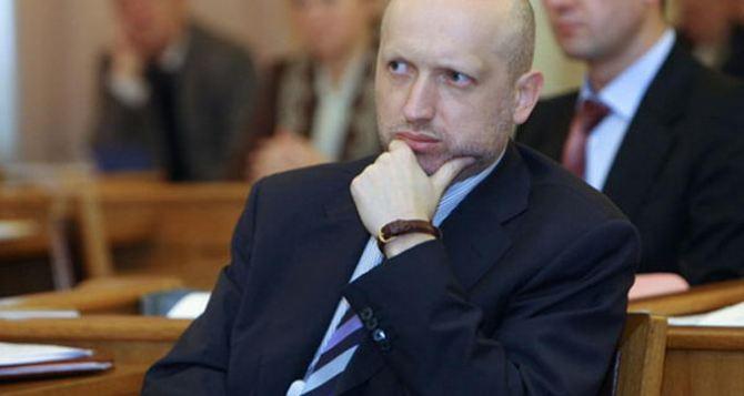 Турчинов объявил о начале антитеррористических мероприятий на востоке Украины