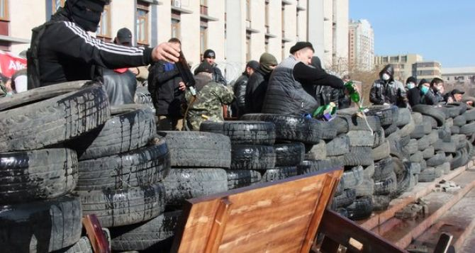 Активисты, захватившие Донецкую ОГА, «уволили» Таруту и создали временное правительство