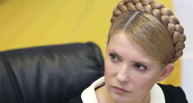Тимошенко готова провести переговоры с захватчиками админзданий на Востоке