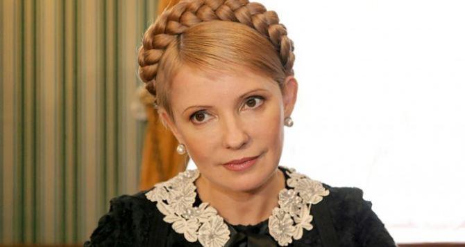 Тимошенко приехала в Луганск договариваться с захватчиками СБУ
